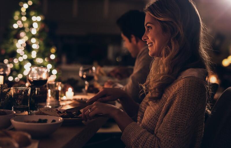 Weihnachten mit Eintritt ins Spa und Abendessen an Heiligabend oder Mittagessen am Weihnachtstag