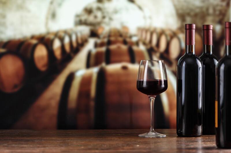 Weingüter und antike Dörfer