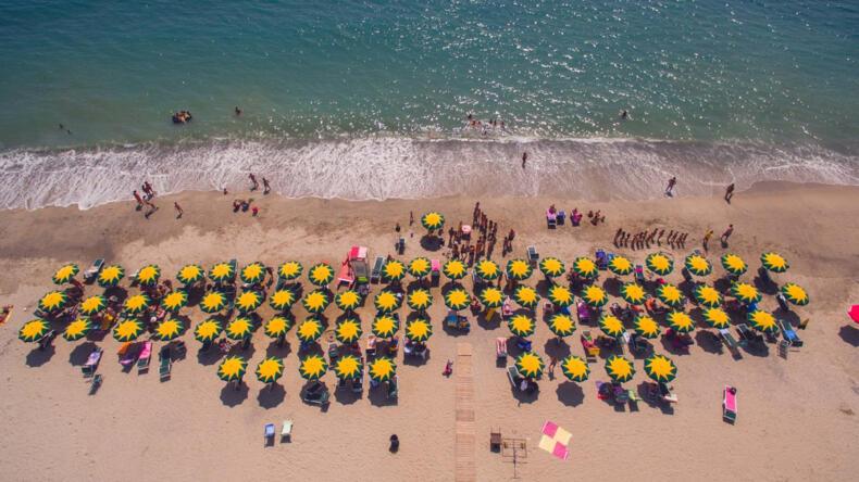 Vacanze di Luglio sul mare di Sellia Marina, bandiera blu