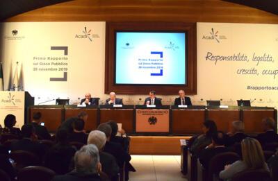 Presentazione del Primo Rapporto sul Gioco Pubblico di ACADI in Confcommercio
