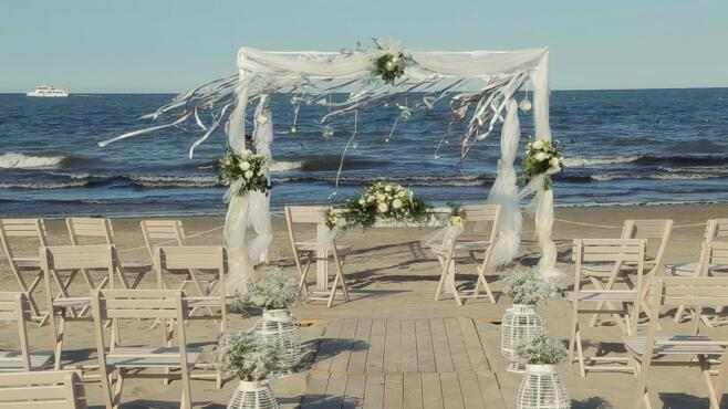15 Settembre 2019 - WEDDING DAY: Dimmi di sì..in riva al mare!