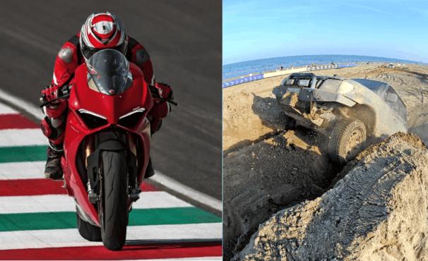 28-29 Settembre 2019 - 15° MOTORS BEACH SHOW - Auto 4x4 sulla spiaggiae moto Ducati