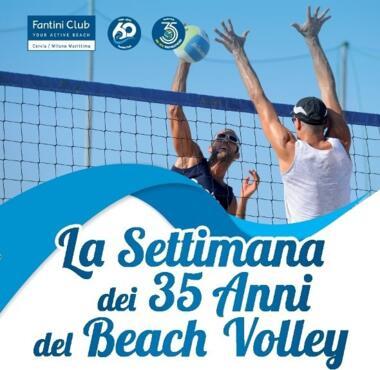 Dal 18 al 23 Giugno 2019 - La Settimana dei 35 anni del Beach Volley in Italia