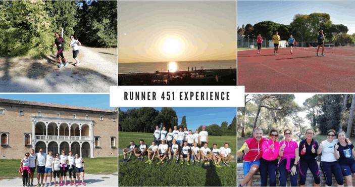 Dal 27 AL 29 Settembre 2019: Runner 451 Experience