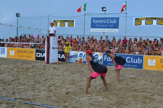 CS_20-06-2019_E' cominciato lo spettacolo dei 35 anni Beach Volley al Fantini Club