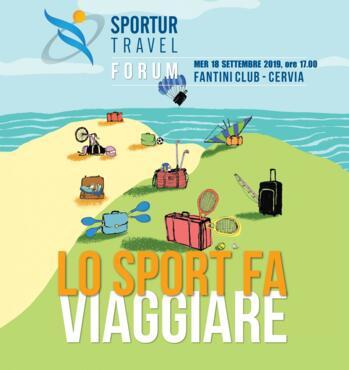 18 Settembre 2019 - Forum, Lo Sport Fa Viaggiare