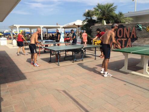 31 Agosto 2019 - 15° Torneo di Beach Ping Pong