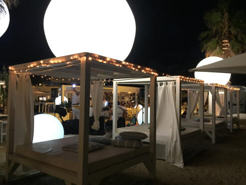 15 Agosto: Cena di Ferragosto on the beach.