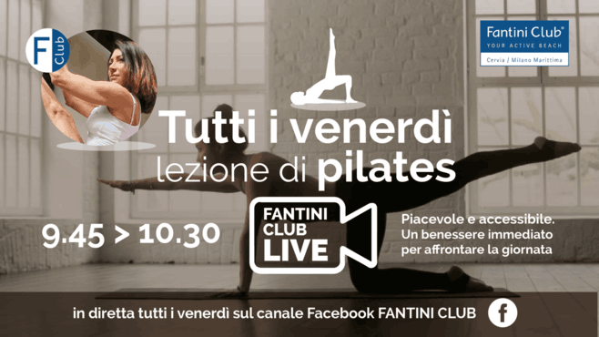 Ogni venerdì ore 9.45 - Lezione di Pilates con Patrizia