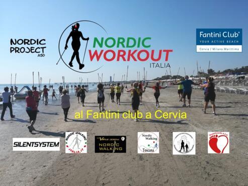 3-4 Luglio 2020 - Nordic Workout in riva al mare