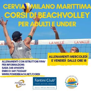 Ogni mercoledì e venerdì 2020 - Corsi di Beach Volley in collaborazione con Power Beach