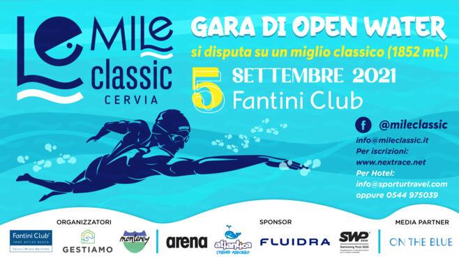 Il 5 settembre il Fantini Club ospiterà la prima edizione della Mile Classic, gara di open water.