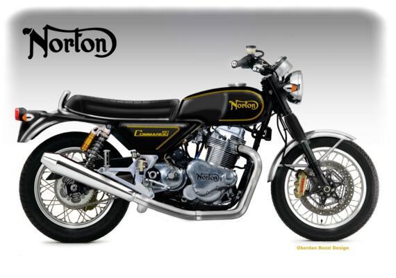 Raduno Moto Norton a Cesenatico