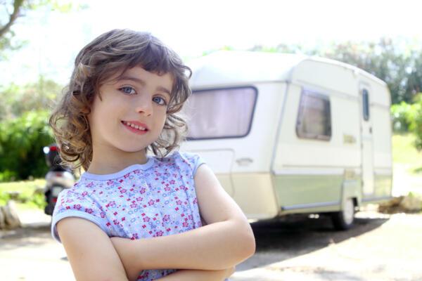 Offerta piazzole per roulotte d'epoca in campeggio di Cesenatico