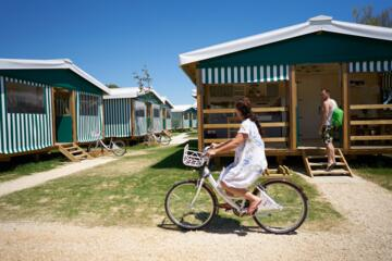 June offer in mobile home at camping village of Bibione Pineda