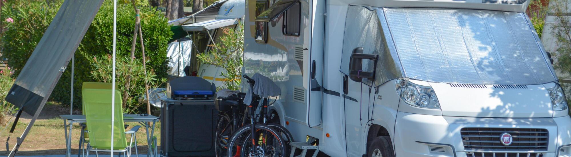 Urlaub auf dem Stellplatz in Bibione: Wochenendaktion im Campingdorf am Meer
