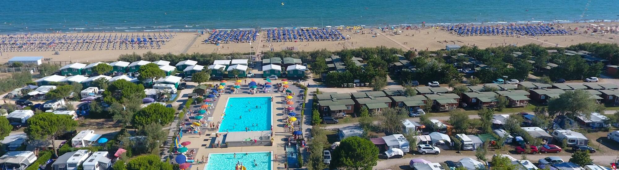 Promotion for May and June for holidays in Bibione