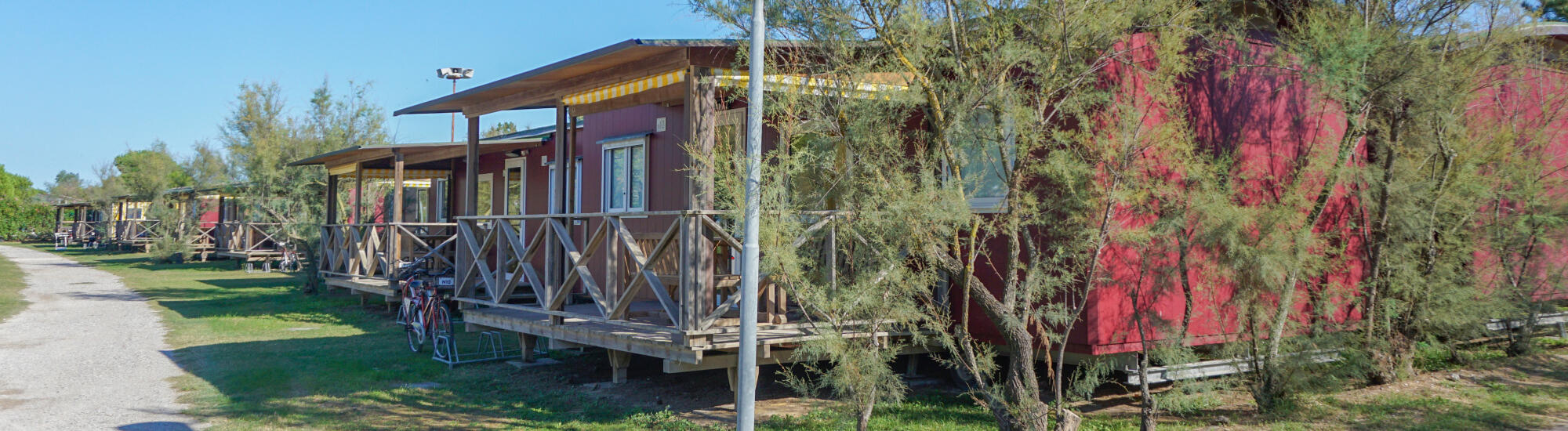 Offerta weekend a Bibione in casa mobile o glamping