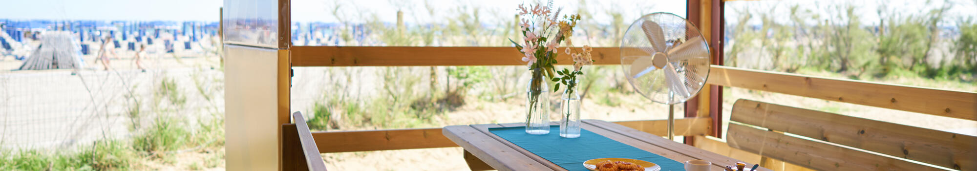 April and May glamping holidays in Bibione