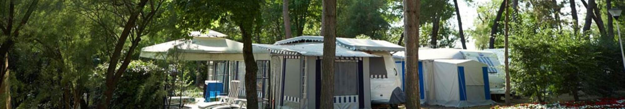 Offerta di luglio: speciale piazzole in camping village a Bibione
