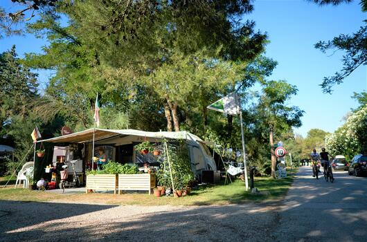 September promotion of pitches in our camping village in Bibione Pineda