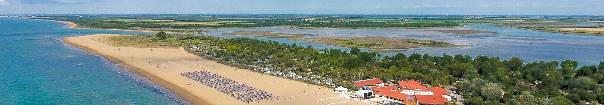 Special short midweek stays in Bibione in mobile home or glamping tent