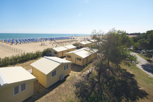 Glamping holidays: offer for July in Bibione