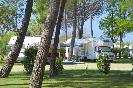 Sonderangebot für Ende August und September auf Stellplätzen in Bibione Pineda