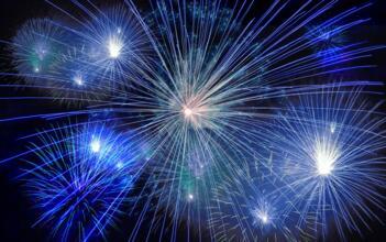 I nostri fuochi d'artificio...