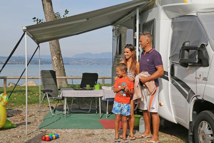 Last Second Offer ON PITCH in May 2019  in Camping Village on the Garda Lake