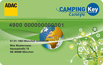 ADAC CAMPING KEY OFFER 2020