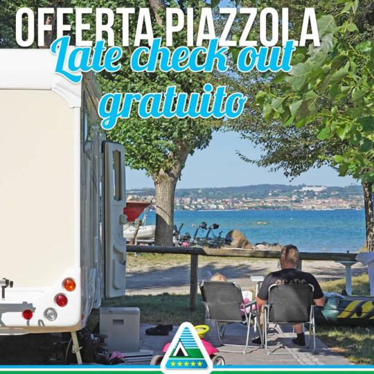 Super special offer ON PITCH in september 2019 in Camping Village at the Garda Lake