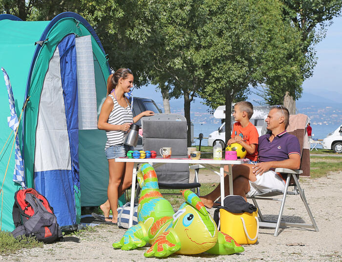 Special Offer ON PITCH in Camping Village on Lake Garda