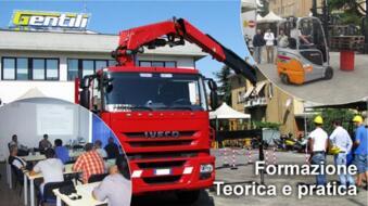 CORSO PER ADDETTI AL CARRELLO ELEVATORE 12 ORE e AGGIORNAMENTO 4 ORE (patentino carrellisti)