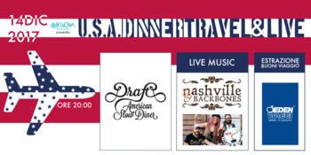 U.S.A. Dinner Travel & Live