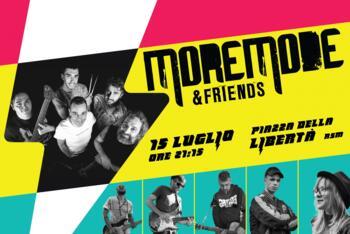MoreMode & Friends Live @ Piazza della Libertà (Centro Storico RSM)