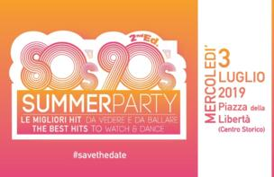 80s90s SUMMER PARTY!