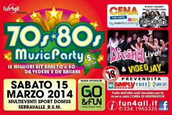 70s 80s Music Party  5th Edition