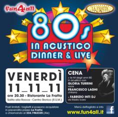 80s in acustico dinner & live
