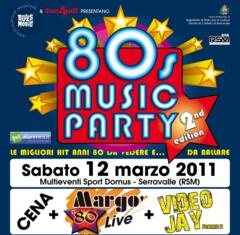 80s Music Party 2011