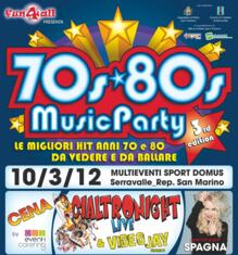70s80s Music Party 2012