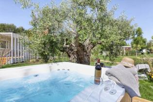 August's last vacancies at camping village in Tuscany