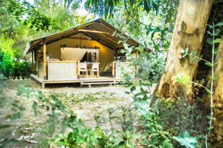 Weekend in Camping Village in Toscana in casa mobile o glamping