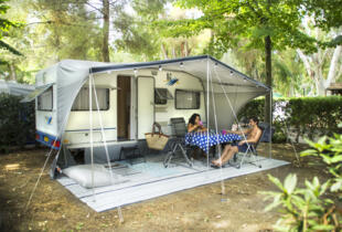 Sconto di luglio in piazzola: vacanze in camping in Toscana