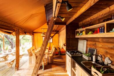 Adventure holidays in July in Glamping