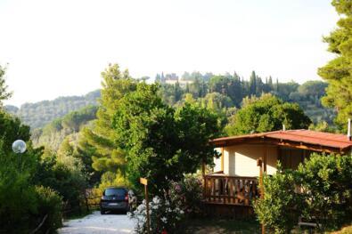 Vacanze di luglio sole, frutta e benessere in casa mobile
