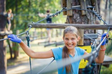 Glamping holidays and free entry to the theme park