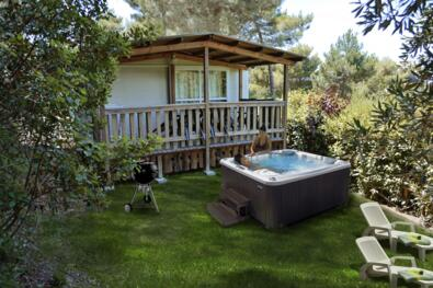 Mobilehome Lucca Open Air Spa