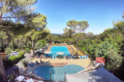 piscine chauffée à 28 degrés