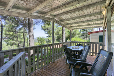 Mobile home offer on a campsite in Tuscany with beach included